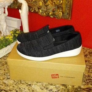 Ladies Fitflop Superskate Uberknit Loafers